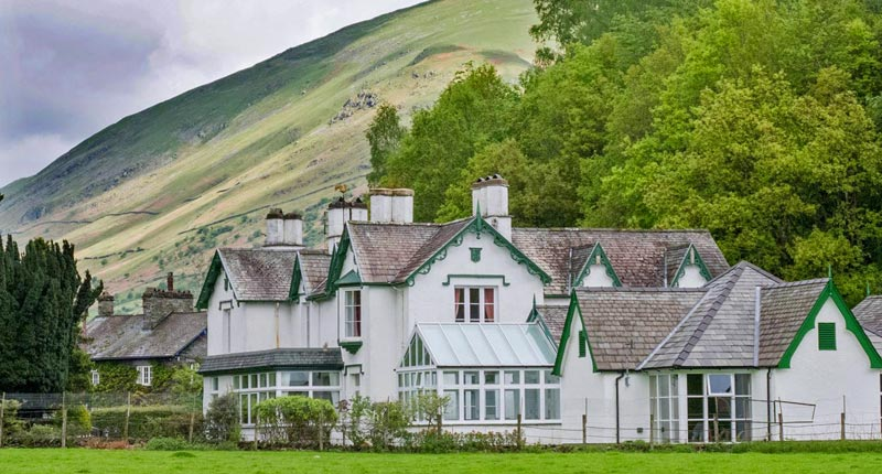 Glenthorne Quaker Centre, Grasmere, Cumbria, bed & breakfast accommodation